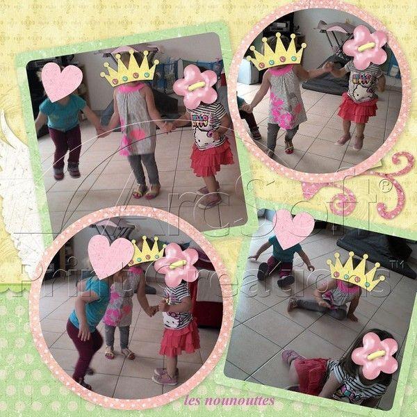 pause danse chant pour les 3 plus grandes filles !!!